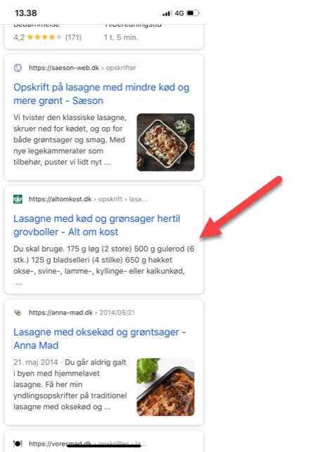 hvor er thumbnail Google